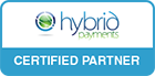 hybrid payments logo stamp